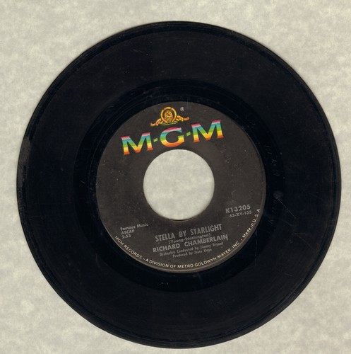 Chamberlain, Richard - Georgia On My Mind/Stella By Starlight  - VG7/ - 45 rpm Records