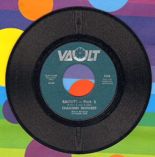 Chambers Brothers - Shout! (Parts 1 + 2)  - NM9/ - 45 rpm Records