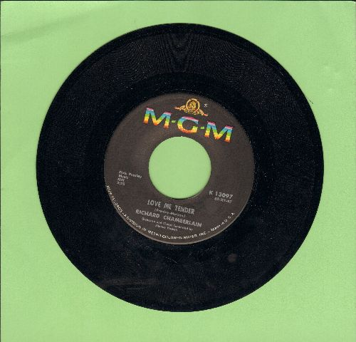 Chamberlain, Richard - Love Me Tender/All I Do Is Dream Of You  - NM9/ - 45 rpm Records