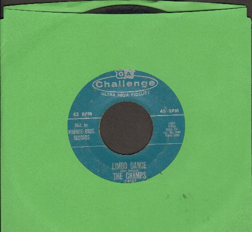 Champs - Latin Limbo/Limbo Dance - VG6/ - 45 rpm Records
