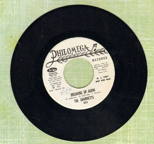 Charmetts - Breaking Up Again/What About The Children - NM9/ - 45 rpm Records