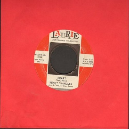 Chandler, Kenny - Heart/Wait For Me (FANTASTIC overlooked flip-side!) - EX8/ - 45 rpm Records