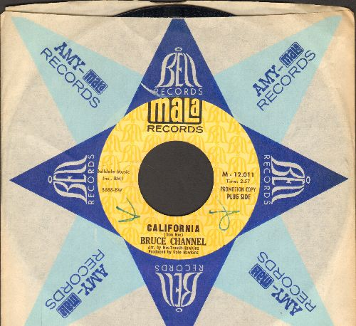 Channel, Bruce - California/Water The Family Tree (PROMO pressing with company sleeve) - NM9/ - 45 rpm Records
