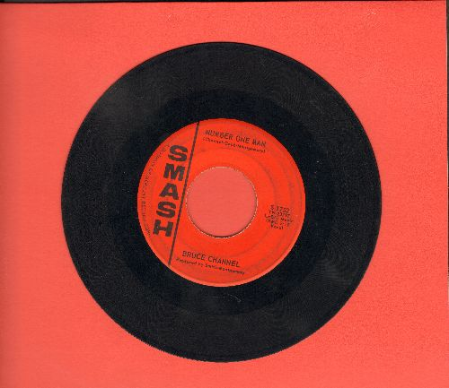 Channel, Bruce - Number One Man/If Only I Had Known (with vintage Smash company sleeve) - VG7/ - 45 rpm Records