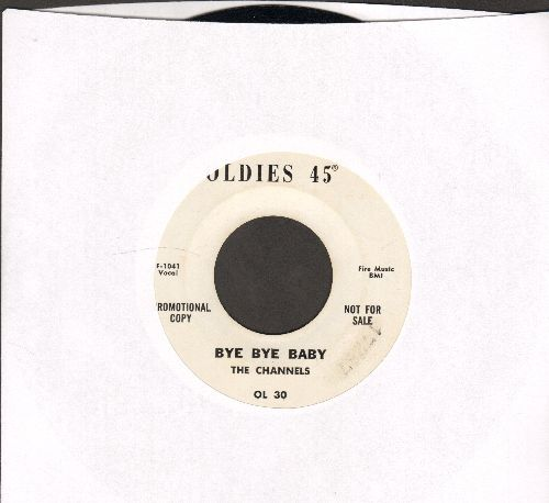 Channels - Bye Bye Baby/Fannie Mae (by Buster Brown on flip-side) (re-issue, DJ advance pressing) - NM9/ - 45 rpm Records