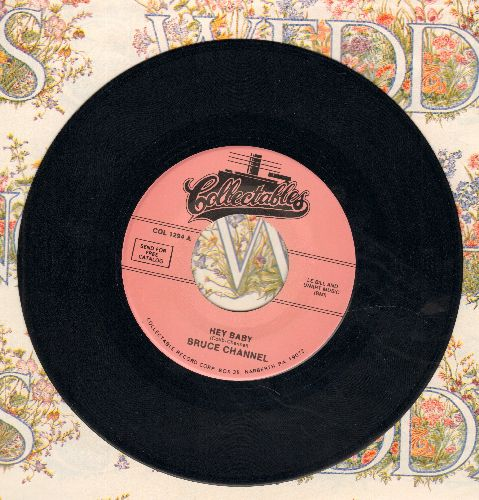 Channel, Bruce - Hey Baby/Big Daddy Of The Bayou (double-hit re-issue) - M10/ - 45 rpm Records
