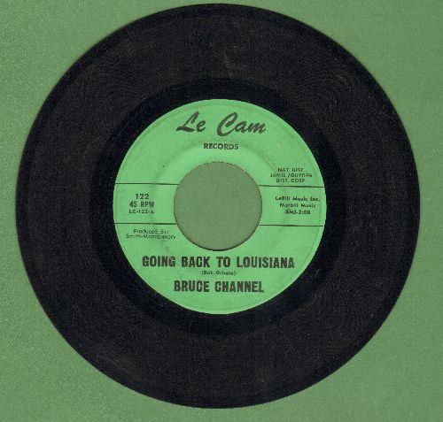 Channel, Bruce - Going Back To Louisiana - EX8/ - 45 rpm Records