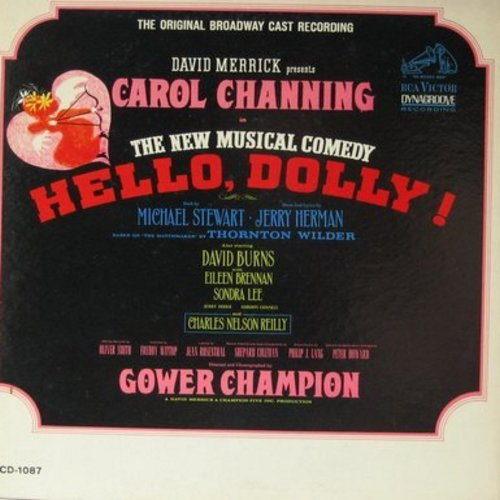 Channing, Carol - Hello, Dolly! - Original Broadway Cast Recording (vinyl STEREO LP record, gate-fold cover, SEALED, never opened! GREAT as a gift!) - M10/EX8 - LP Records