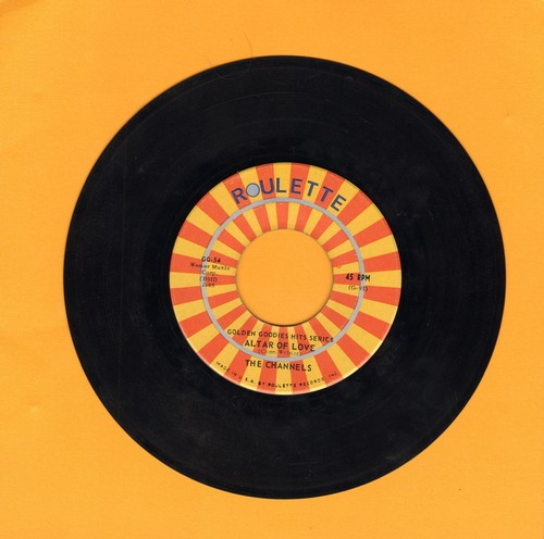 Channels - Altar Of Love/That's My Desire (double-hit re-issue) - EX8/ - 45 rpm Records