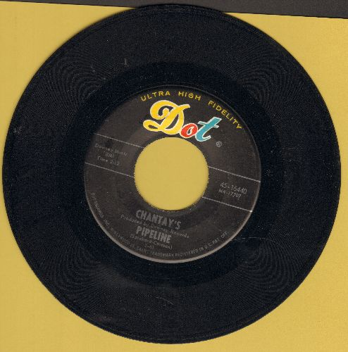 Chantay's - Pipeline/Move It  - EX8/ - 45 rpm Records