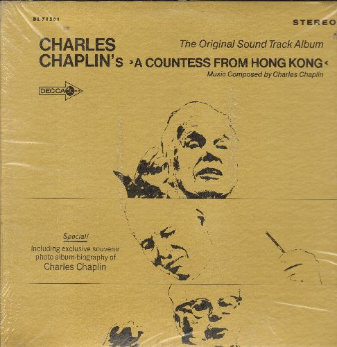Chaplin, Charles - A Countess From Hong Kong - Original Motion Picture Soundtrack, vinyl STEREO LP record, SEALED, never opened! - SEALED/SEALED - LP Records