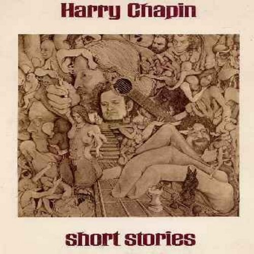 Chapin, Harry - Short Stories: Mail Order Annie, Old College Avenue, They Call Her Easy, Changes, There's A Lot Of Lonely People Tonight (vinyl STEREO LP record, gate-fold cover 1973 first issue) - M10/EX8 - LP Records