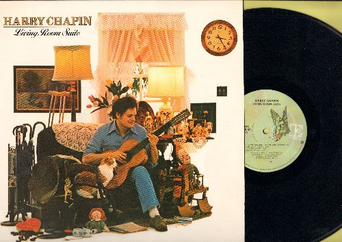 Chapin, Harry - Living Room Suite: Dancin' Boy, Jenny, Flowers Are Red, Somebody Said, Poor Damned Fool (vinyl STEREO LP record) - NM9/NM9 - LP Records