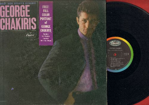 Chakiris, George - George Chakiris: Maria, One Girl, All I Need Is The Girl, Mr. Lucky, Tonight (vinyl MONO LP record) - EX8/VG6 - LP Records
