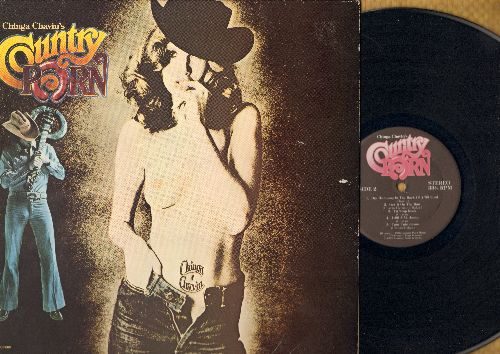 Chavin, Chinga - Chinga Chavin's Country Porn: Talkin' Matamoros First Piece O'Ass Blues, Asshole From El Paso, Cum Stain On The Pillow, Head Boogie, Tit Stop Rock (RARE Novelty album, vinyl STEREO LP record, gate-fold cover) - NM9/EX8 - LP Records
