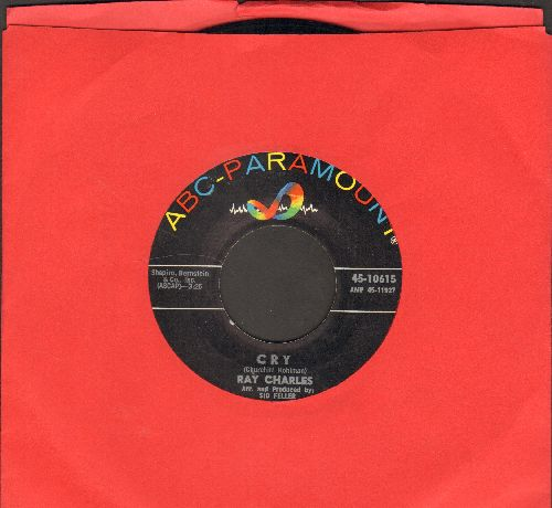 Charles, Ray - Cry/Teardrops From My Eyes - NM9/ - 45 rpm Records
