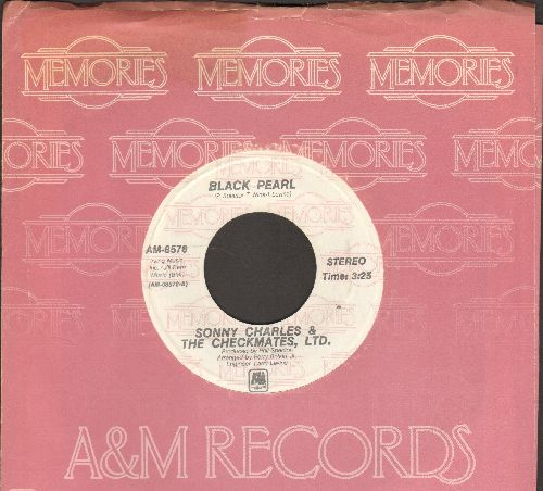 Charles, Sonny & The Checkmates, Ltd. - Black Pearl/Love Is All I Have To Give (double-hit re-issue with company sleeve) - NM9/ - 45 rpm Records