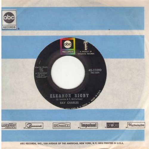 Charles, Ray - Eleonor Rigby/Understanding (with ABC company sleeve) - NM9/ - 45 rpm Records