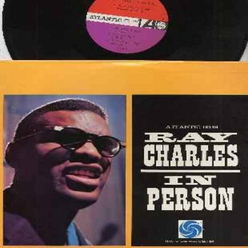 Charles, Ray - In Person: The Right Time, What'd I Say, Drown In My Own Tears, Frenesi, Tell The Truth (vinyl LP record) - VG7/VG7 - LP Records