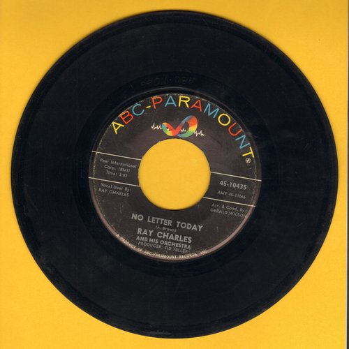 Charles, Ray - No Letter Today/Take These Chains From My Heart - EX8/ - 45 rpm Records