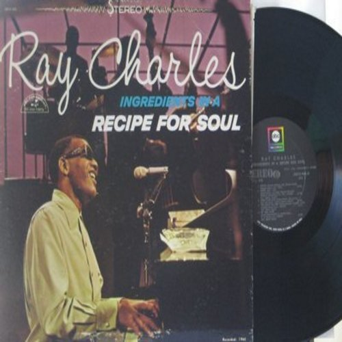 Charles, Ray - Ingredients In A Recipe For Soul: Ol' Man River, Busted, Over The Rainbow, You'll Never Walk Alone (vinyl STEREO LP record) - EX8/NM9 - LP Records