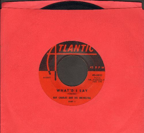 Charles, Ray - What's I Say (Parts 1 + 2)  - VG7/ - 45 rpm Records