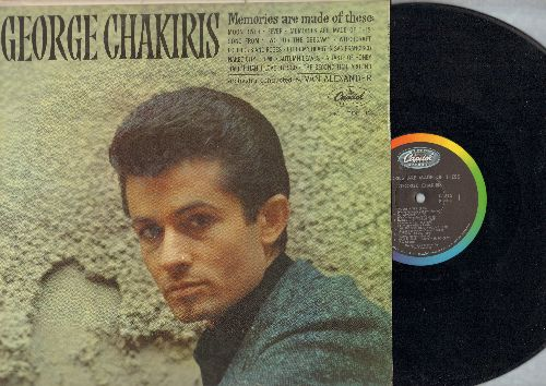 Chakiris, George - George Chakiris: Maria, One Girl, All I Need Is The Girl, Mr. Lucky, Tonight (vinyl MONO LP record) - NM9/VG7 - LP Records