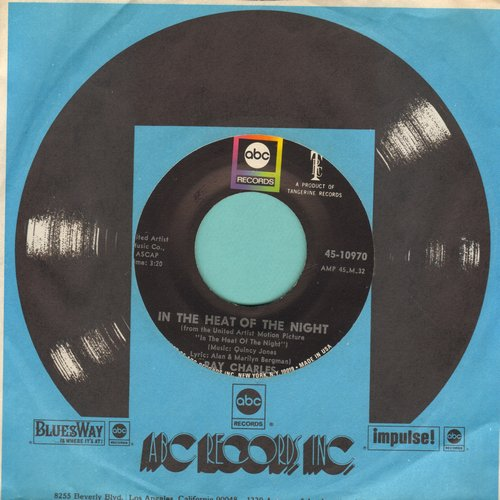 Charles, Ray - In The Heat Of The Night/Something's Got To Change - EX8/ - 45 rpm Records
