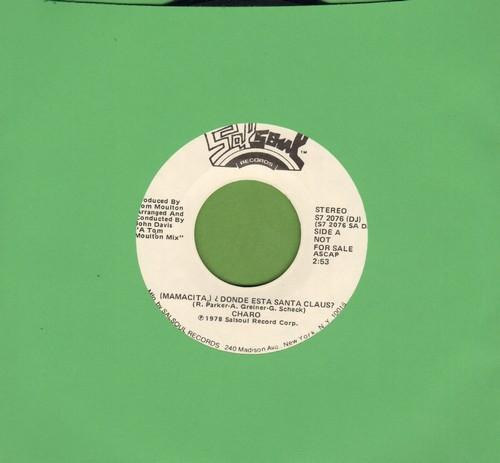 Charo - (Mamacita) Donde Esta Santa Claus? (Double-A-sided DJ advance pressing) - NM9/ - Maxi Singles