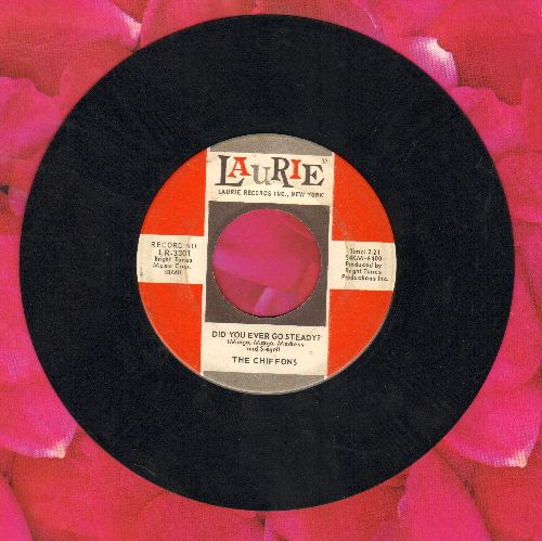 Chiffons - Did You Ever Go Steady?/Nobody Knows What's Goin' On (In My Mind But Me) - VG7/ - 45 rpm Records