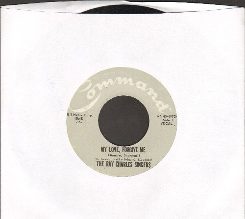 Charles, Ray Singers - My Love, Forgive Me/My Guitar And My Song - EX8/ - 45 rpm Records