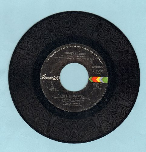 Chi-Lites - Homely Girl/I Never Had It So Good (And Flet So Bad) - EX8/ - 45 rpm Records