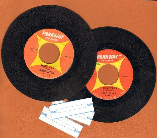 Checker, Chubby - 2 for 1 Special: The Twist/Limbo Rock (2 vintage first issue 45rpm records for the price of 1!)(minor wol) - VG7/ - 45 rpm Records