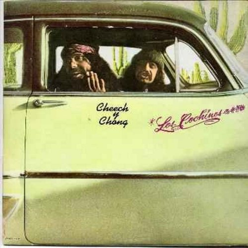Cheech & Chong - Los Cochinos@#!!*: The Kings of weedy Humor at their very best! (vinyl LP record) - EX8/EX8 - LP Records