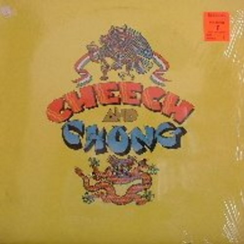 Cheech & Chong - Cheech & Chong: This is the first in the series of comedy albums by the infamous street wise and dope-friendly duo. (Risque homor) - NM9/EX8 - LP Records