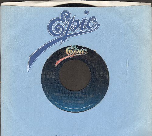 Cheap Trick - I Want You To Want Me/Clock Strikes Ten (with Epic company sleeve) - EX8/ - 45 rpm Records