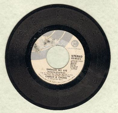 Cheech & Chong - Earache My Eye/Turn That Thing Down - VG7/ - 45 rpm Records