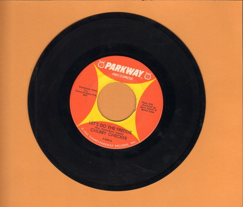 Checker, Chubby - Let's Do The Freddie/(At The) Discoteque (wol) - EX8/ - 45 rpm Records