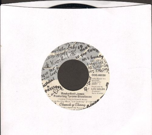 Cheech & Chong - Basketball Jones Featuring Tyrone Shoelaces/Don't Bug Me  - VG7/ - 45 rpm Records