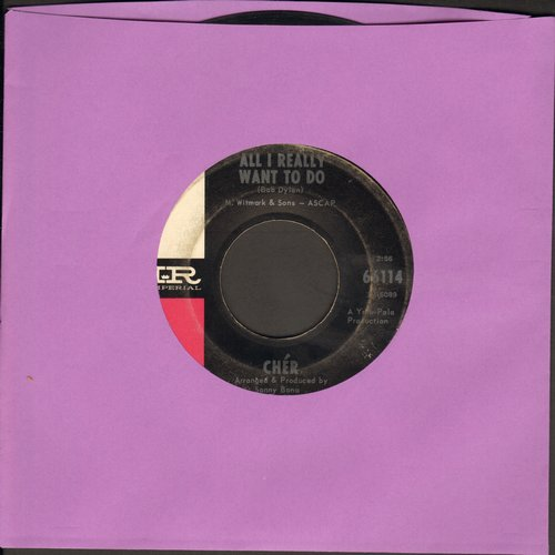 Cher - All I Really Want To Do/I'm Gonna Love You - VG7/ - 45 rpm Records