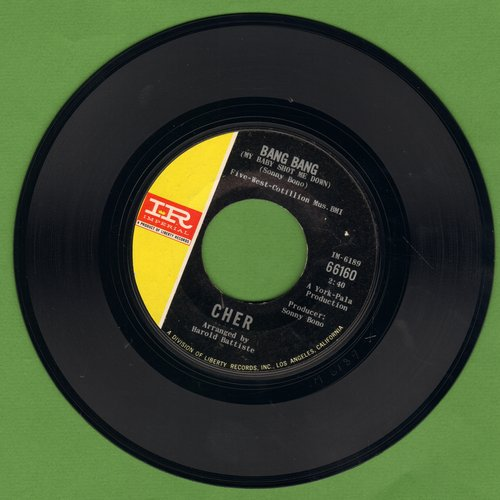 Cher - Bang Bang/Our Day Will Come  - VG7/ - 45 rpm Records