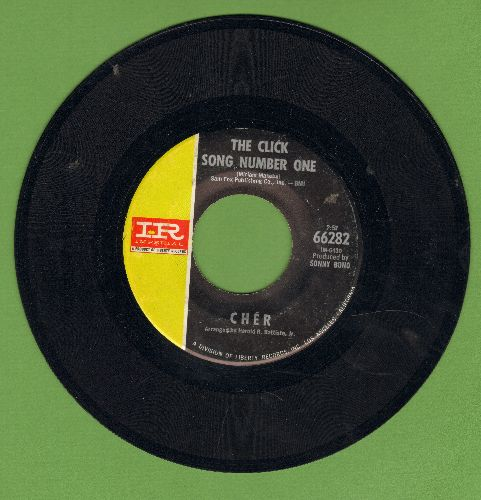 Cher - The Click Sng Number One/But I Can't Love You More - VG7/ - 45 rpm Records