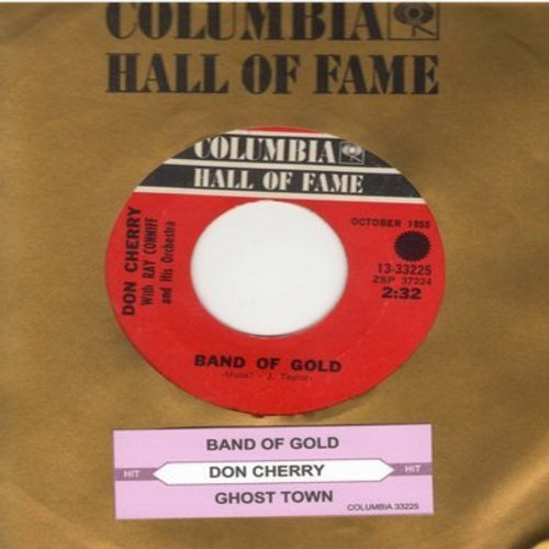 Cherry, Don - Band Of Gold/Ghost Town (re-issue with Columbia company sleeve) - NM9/ - 45 rpm Records