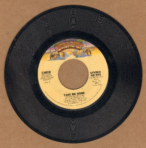 Cher - Take Me Home/My Song (Too Far Gone)  - NM9/ - 45 rpm Records