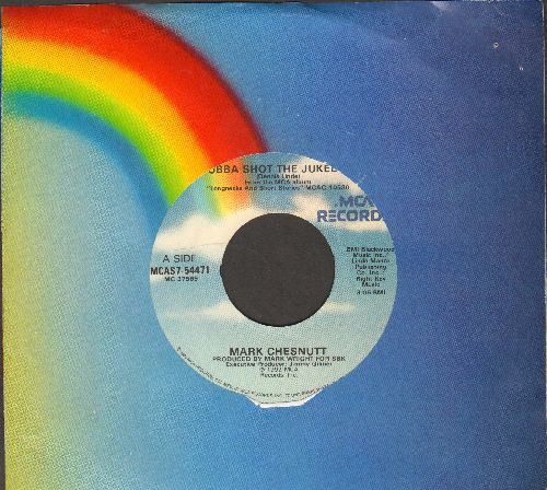 Chesnutt, Mark - Bubba Shot The Juke Box/It's Not Over (If I'm Not Over You) (with company sleeve) - EX8/ - 45 rpm Records