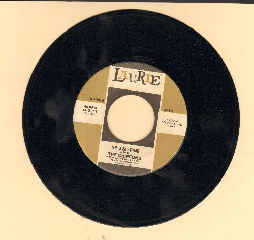 Chiffons - He's So Fine/A Love So Fine (re-issue) - EX8/ - 45 rpm Records