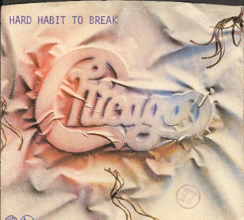 Chicago - Hard Habit To Break/Remember The Feeling (with picture sleeve) - NM9/NM9 - 45 rpm Records