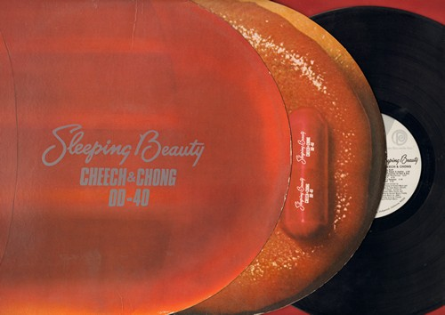 Cheech & Chong - Sleeping Beauty - Hilarious Comedy Album with VERY Unique Pop-Culture Cover! (vinyl STEREO LP record) - EX8/EX8 - LP Records