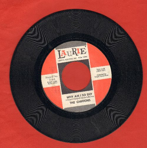 Chiffons - Why Am I So Shy/Lucky Me - NM9/ - 45 rpm Records