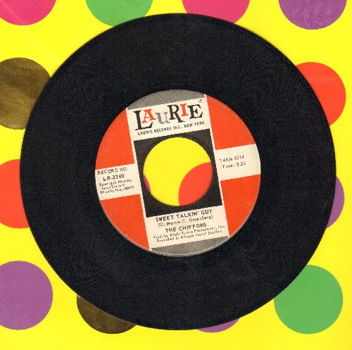 Chiffons - Sweet Talkin' Guy/Did You Ever Go Steady (with juke box label) - NM9/ - 45 rpm Records